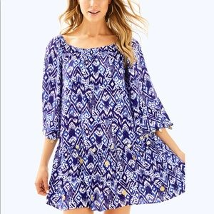 NWT Lilly Pulitzer Patterned Delaney Tunic Dress